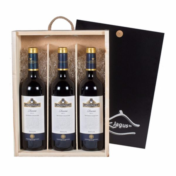 Estuche vino tinto D.O Rioja Lagunilla Familly Collection Reserva